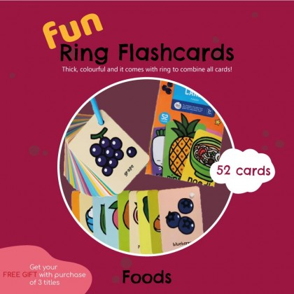 Ring fun flashcards suitable for beginner easy to bring