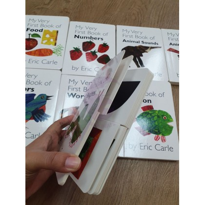 ERIC CARLE My very first book 8 board books suitable for 6 months -5 years